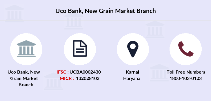 Uco-bank New-grain-market branch