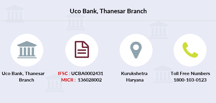 Uco-bank Thanesar branch