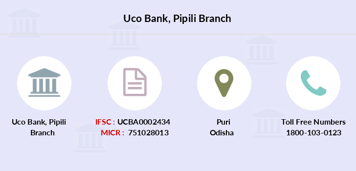 Uco-bank Pipili branch