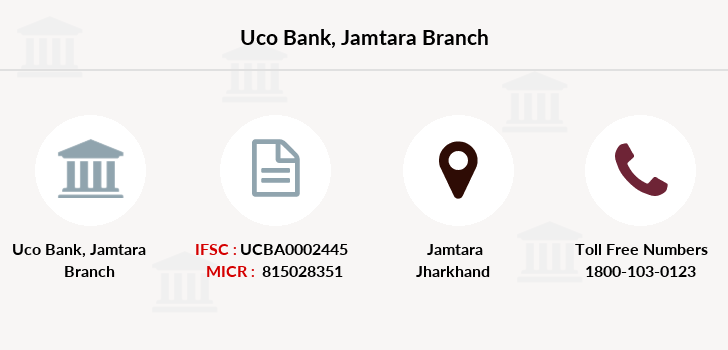 Uco-bank Jamtara branch