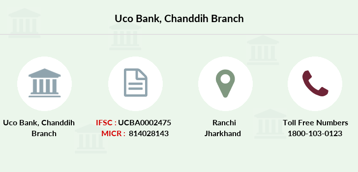 Uco-bank Chanddih branch