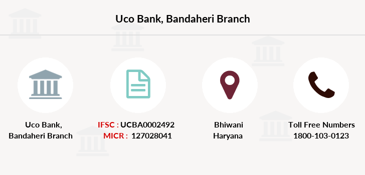 Uco-bank Bandaheri branch