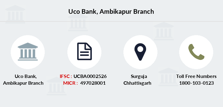 Uco-bank Ambikapur branch