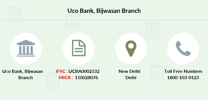 Uco-bank Bijwasan branch
