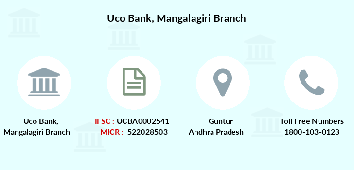 Uco-bank Mangalagiri branch