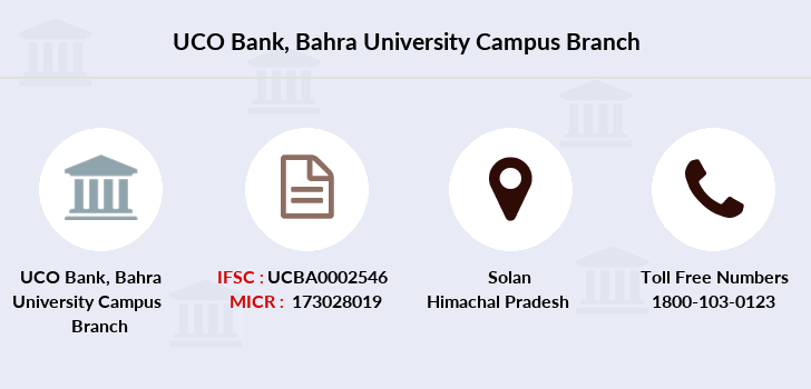 Uco-bank Bahra-university-campus branch