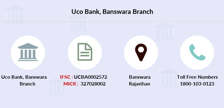 Uco-bank Banswara branch