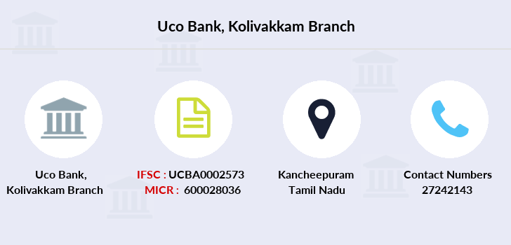Uco-bank Kolivakkam branch