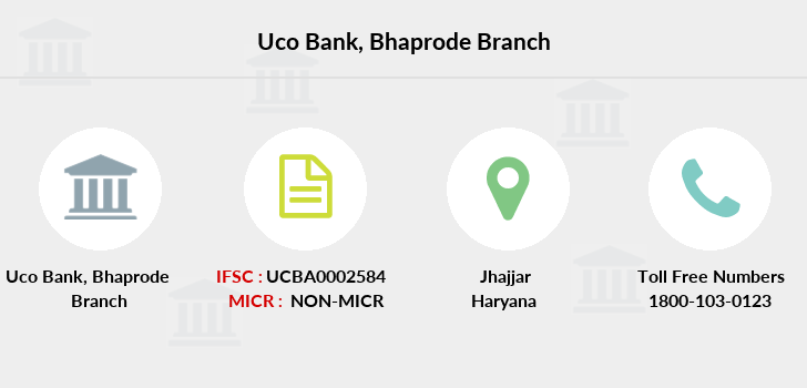 Uco-bank Bhaprode branch