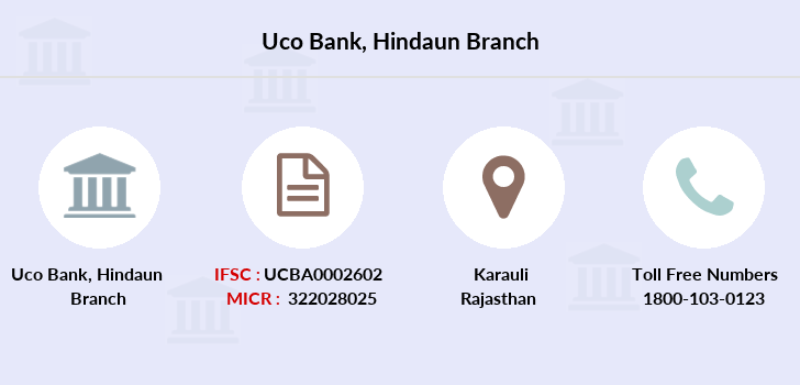 Uco-bank Hindaun branch