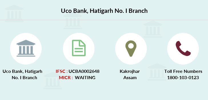 Uco-bank Hatigarh-no-i branch