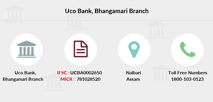 Uco-bank Bhangamari branch