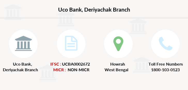 Uco-bank Deriyachak branch