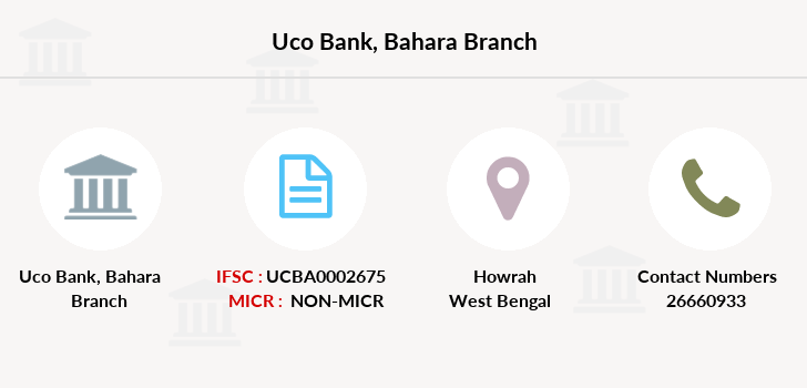 Uco-bank Bahara branch