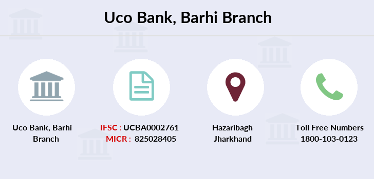 Uco-bank Barhi branch