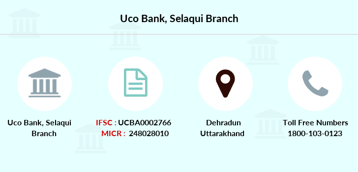 Uco-bank Selaqui branch
