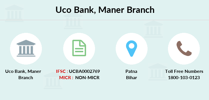 Uco-bank Maner branch