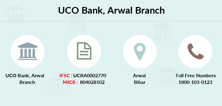 Uco-bank Arwal branch