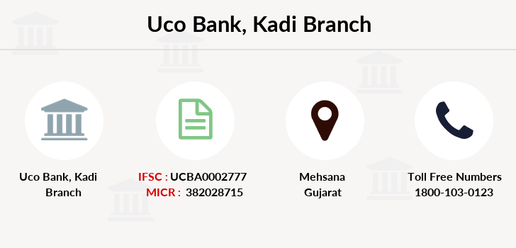 Uco-bank Kadi branch