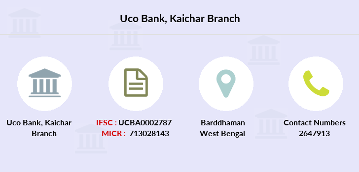 Uco-bank Kaichar branch