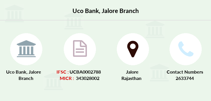 Uco-bank Jalore branch