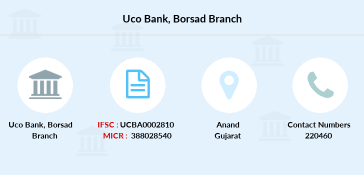 Uco-bank Borsad branch