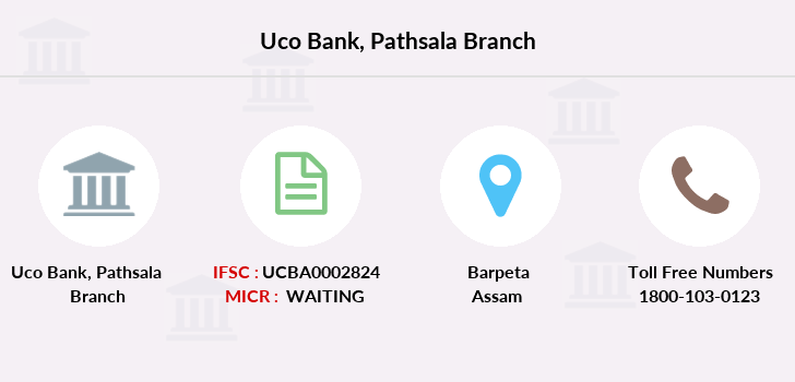 Uco-bank Pathsala branch