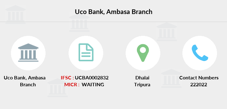 Uco-bank Ambasa branch