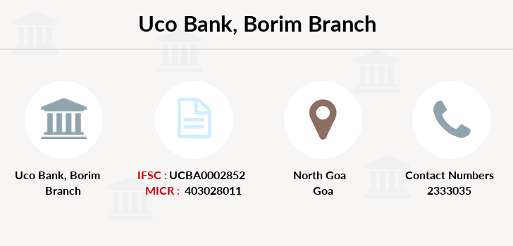 Uco-bank Borim branch