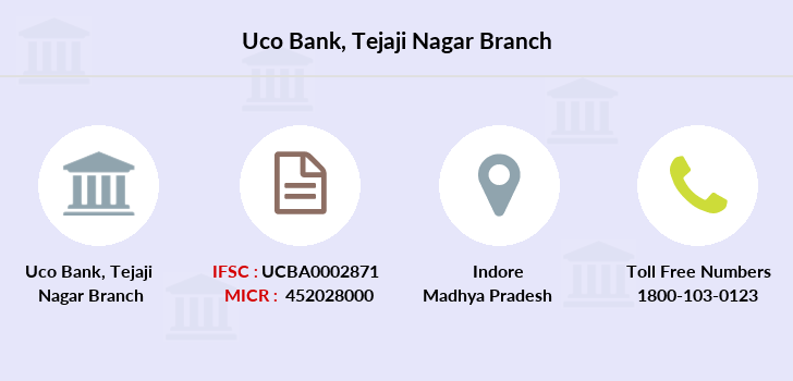 Uco-bank Tejaji-nagar branch