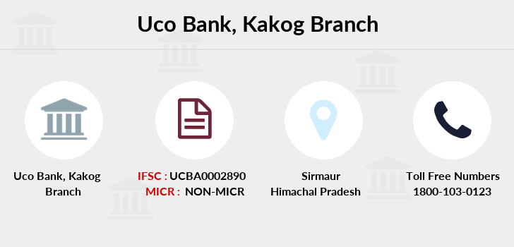 Uco-bank Kakog branch