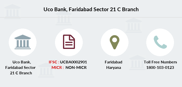 Uco-bank Faridabad-sector-21-c branch