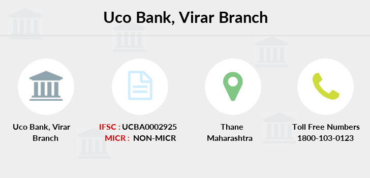 Uco-bank Virar branch