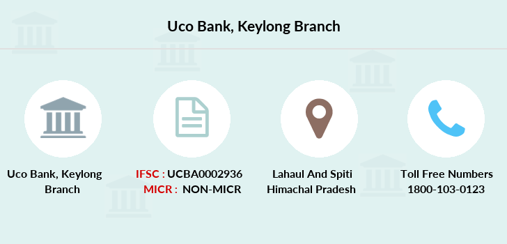Uco-bank Keylong branch