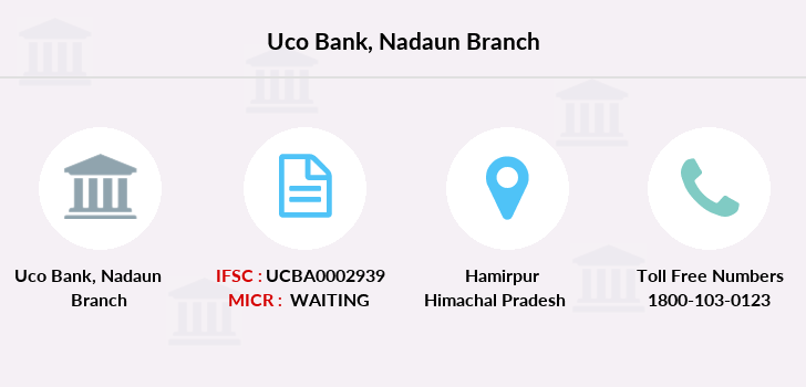 Uco-bank Nadaun branch