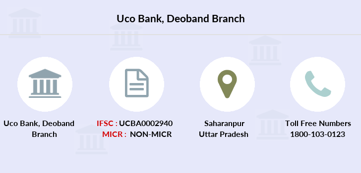 Uco-bank Deoband branch