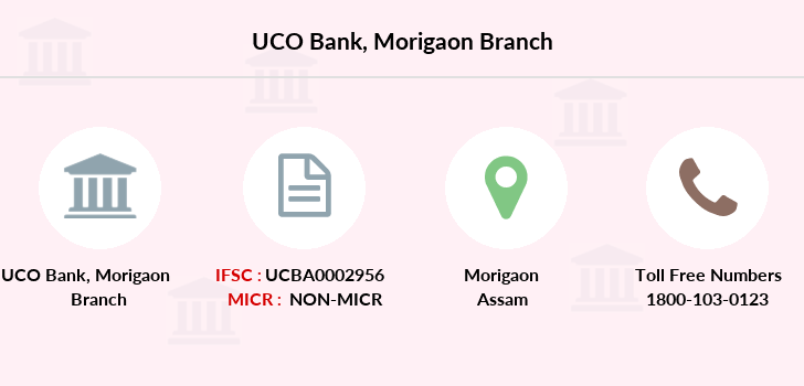 Uco-bank Morigaon branch