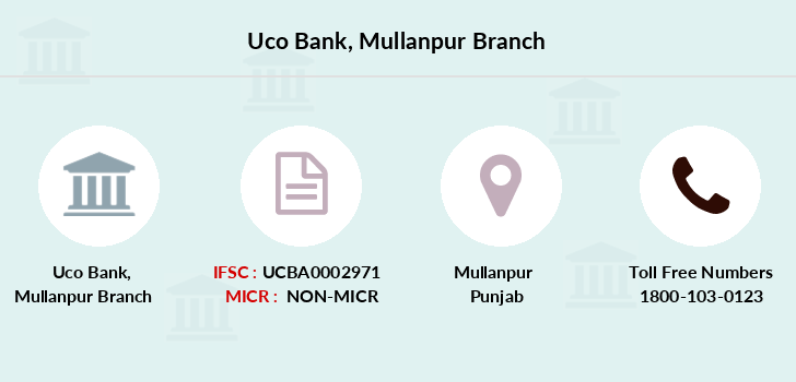 Uco-bank Mullanpur branch