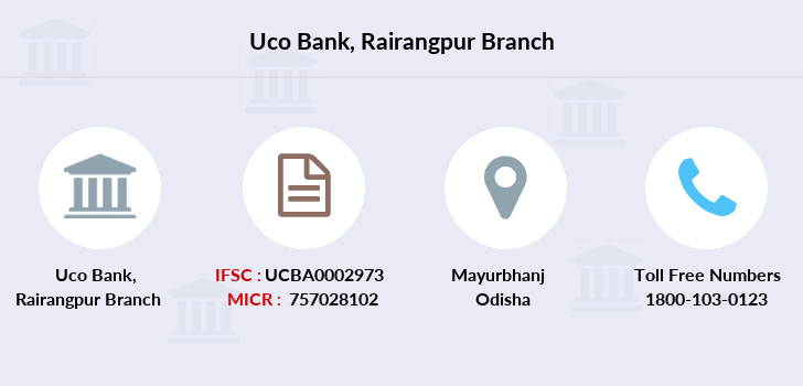 Uco-bank Rairangpur branch