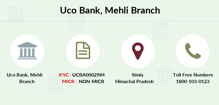 Uco-bank Mehli branch