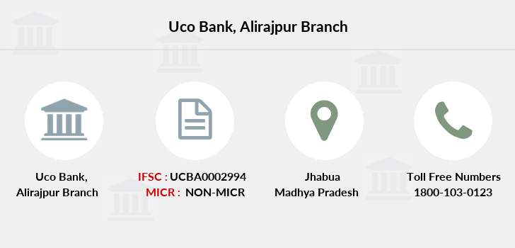 Uco-bank Alirajpur branch