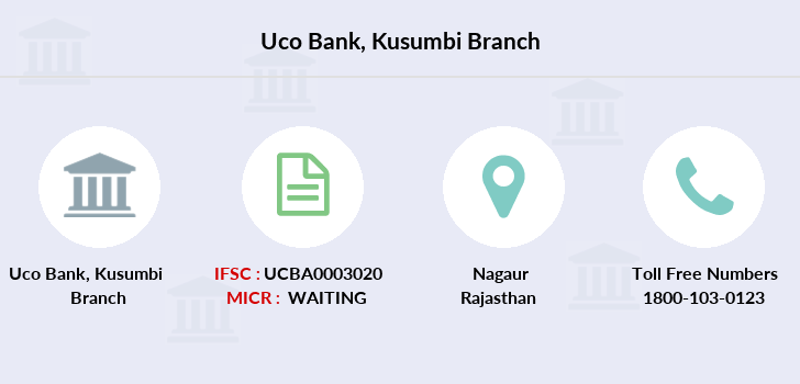 Uco-bank Kusumbi branch