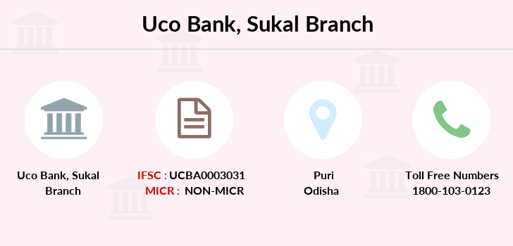 Uco-bank Sukal branch