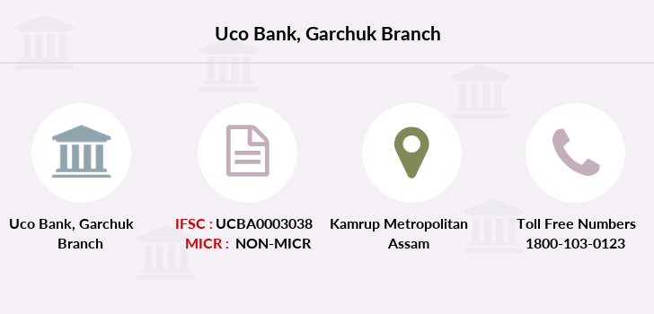 Uco-bank Garchuk branch