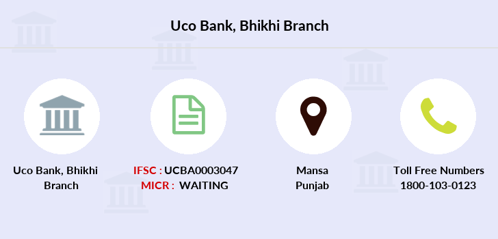 Uco-bank Bhikhi branch
