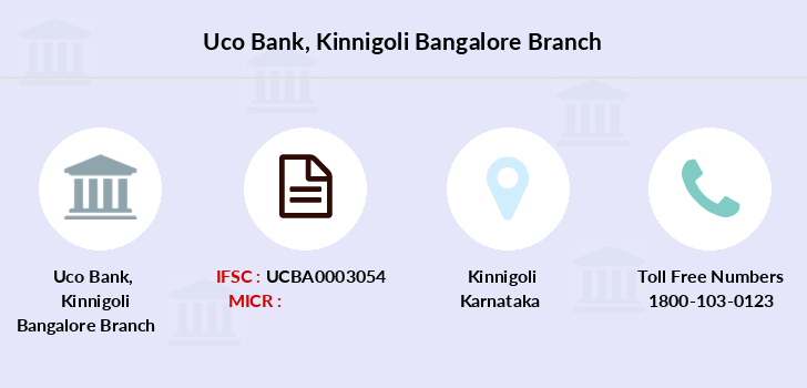 Uco-bank Kinnigoli-bangalore branch