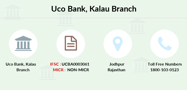 Uco-bank Kalau branch