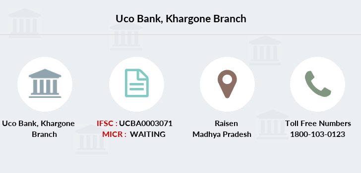 Uco-bank Khargone branch