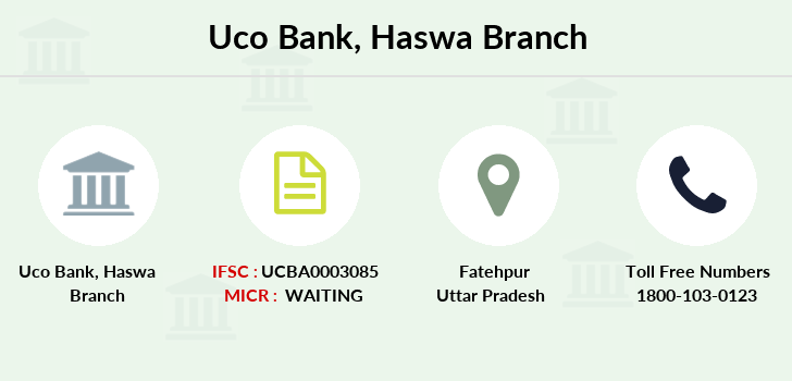 Uco-bank Haswa branch