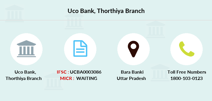 Uco-bank Thorthiya branch